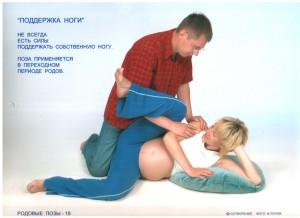 позы для родов