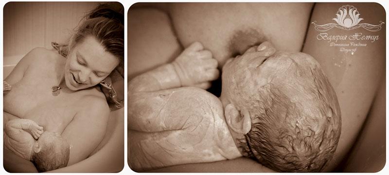 фото домашних родов